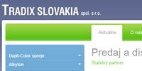 Tradix.sk I Predaj a distribúcia náterových hmôt